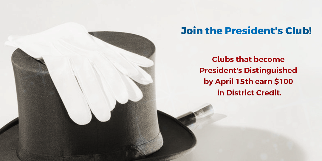 Join the President's Club!
