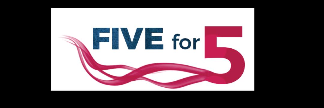 Five for 5 header