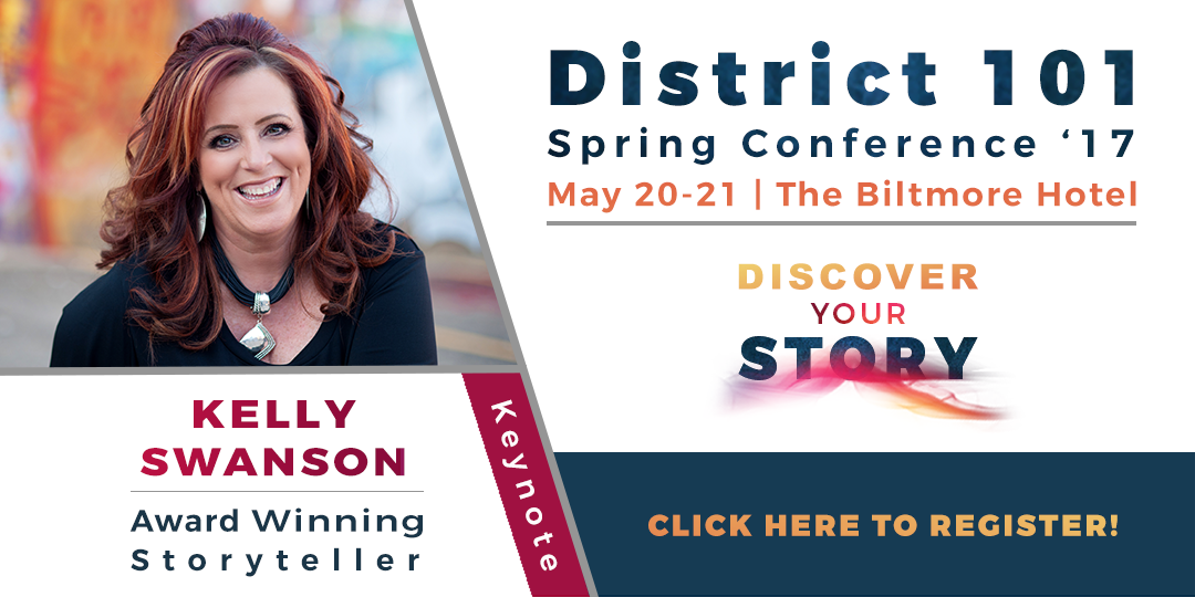 Click to register for District Conference - May 20-21