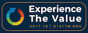 Experience The Value Pin