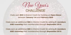 New Year's Challenge