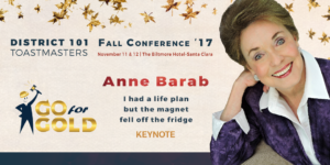 Fall Conference - November 11 - Anne Barab
