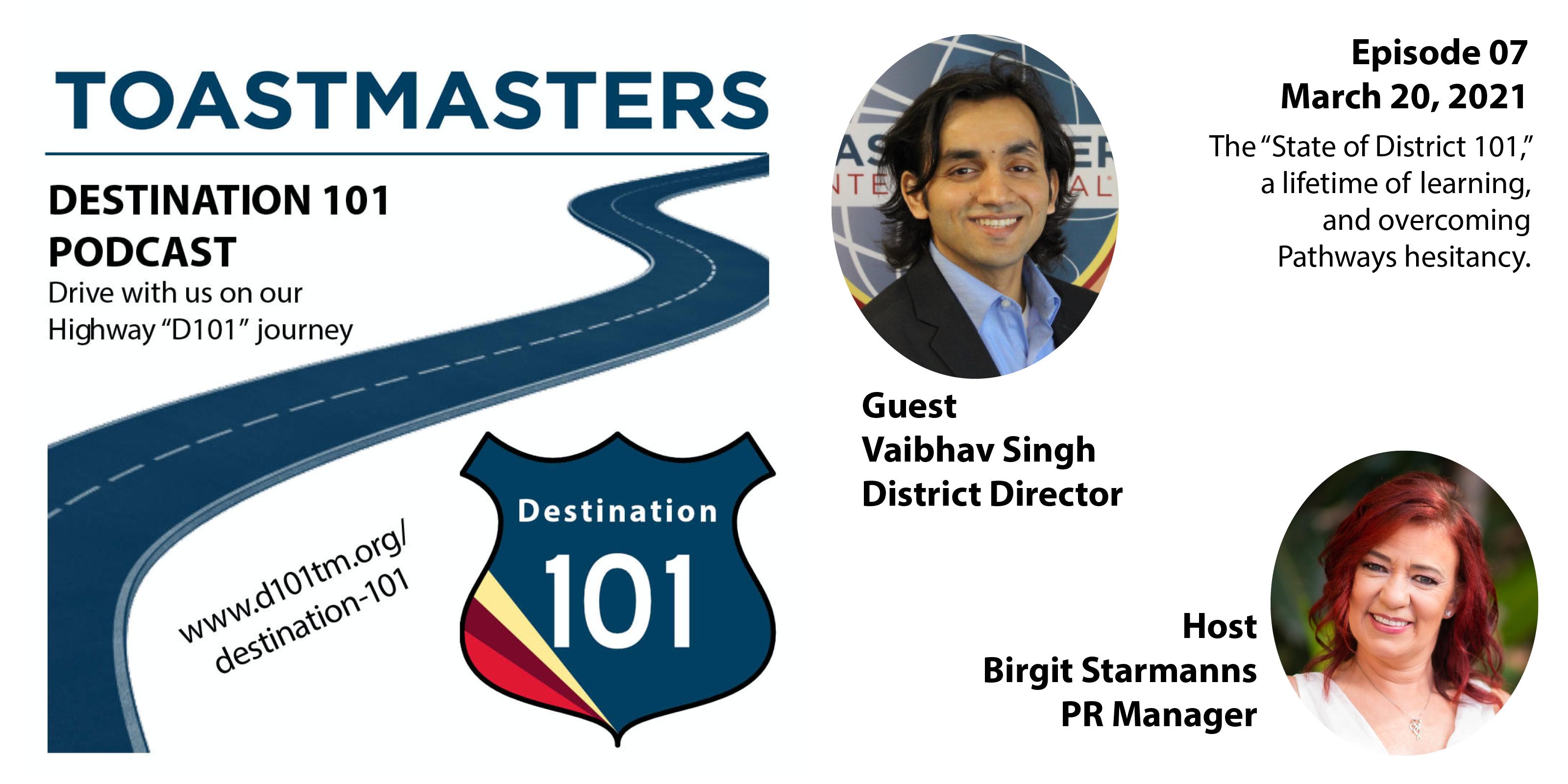 2020-21 District 101 Leadership Team