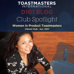 Club Spotlight: Women in Product Toastmasters
