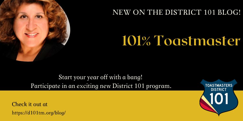 101% Toastmasters
